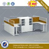 Escola de madeira Mesa de escritório de turismo moderno mobiliário de escritório executivo (HX-8NE077)