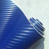 Carbono Azul de 1,4 mm de cuero de microfibra de alta gama de fundas de coche