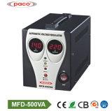 Stabilisator van uitstekende kwaliteit 500va van het Voltage van het Huis van de Digitale Vertoning de Automatische