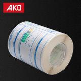 Étiquettes directes de logistique d'étiquettes d'expédition d'usine de coût de coût bas de performance de papier élevé de desserrage