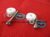 Smerigliatrice di ceramica della bava del laminatoio dell'allumina da 10 pollici per pepe