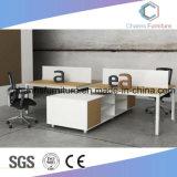 [ل] مستقلّة شكل مكتب طاولة اثنان أشخاص مركز عمل [كس-و1856]
