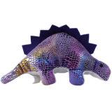 Logo mignon marqué le Roi promotionnel Toys de dinosaur de peluche