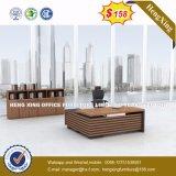 Bureau en bois de patte en métal d'enduit de poudre noire premier (HX-8N0135)