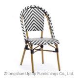 Il bistrot francese di alluminio della presidenza di vimini della mobilia di bambù Sp-Oc359 presiede la retro mobilia