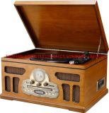Luxury Box Cabinet Music Player Gramophone Turntable mit USB