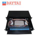 Sc LC FC de panneau ST Adaptateur Simplex 48 châssis de distribution à fibres optiques de base ODF