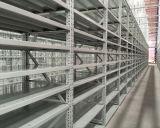 Longue portée avec étagères en acier en rack de stockage de carton
