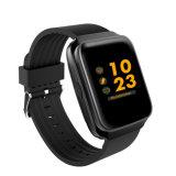 Freqüência cardíaca automática da pressão arterial Smart braceletes 1,54 Super IPS grande LCD a cores de alta definição Fashion assista com altifalante de vigilância de música de câmara remota
