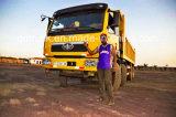 저가 양호한 상태 아프리카를 위한 이용된 FAW 덤프 트럭 12 바퀴 팁 주는 사람