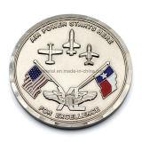 L'émail en alliage de zinc indique la pièce de monnaie de souvenir d'indicateur