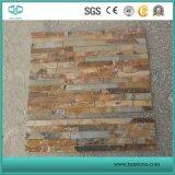 Ardoise noire/jaune Ardoise/bois rouillé ardoise Ardoise/cuivre/bleu ardoise Pierre de la Culture pour revêtement mural