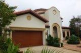 Белый цвет верхней двери гаража с автоматическим дистанционным управлением накладных механизм открывания двери гаража оцинкованной стали или алюминия