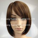 Parrucca sintetica elaborata/tinta dei capelli per la sensibilità dei capelli umani della donna