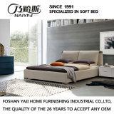 方法ダブル・ベッドデザイン現代寝室の家具ファブリックベッド(G7008)