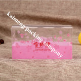Pacote de transporte personalizado Pet Plastic Pink Box Storage for Gift