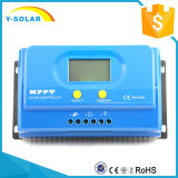 MPPT 20AMP 12V/24VのRS232ソフトウェアセリウムRoHSFCCの証明の太陽コントローラYs-20A