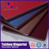 El panel lateral de la pared de Alucoworld del acoplado de aluminio impermeable exterior del revestimiento