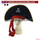 Carnaval crâne de Pirate Halloween Party Hat partie d'alimentation (C2104)