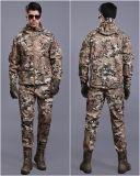 Juego uniforme impermeable militar multicolor táctico de la chaqueta + de bragas