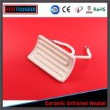 Tipo radiadores infrarrojos de cerámica de encargo de la fuente eléctrica de 122*60m m
