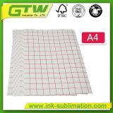 Transferencia de la sublimación, tipo de papel oscuro de transferencia de la camiseta y tipo material papel del papel de la camiseta
