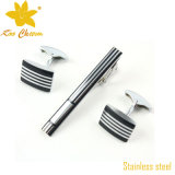 Tieclip-019 Classic Stainless Steel Tie Pins e clipes