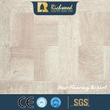 Hogar 12,3mm E0 de madera de nogal suelos de textura de madera veteada Laminbate