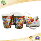 Tasse en céramique nouveau-née en gros de 12oz Chine pour le cadeau de Noël de Customied