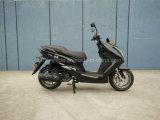 黒いカラーの150ccガソリンオートバイ
