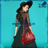 Bw1-077女性札入れのハンド・バッグの女性のPU/Leather 3PCSのハンドバッグセット