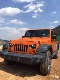 Gril avant d'Autobot d'aigle de Lantsun J211 d'oeil d'oeil noir de faucon pour le Wrangler de la jeep 07-17