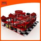 Diapositiva espiral de interior con los juguetes plásticos suaves para los cabritos 6619A