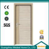 Porta de madeira do núcleo oco de melamina branca para o hotel (WDHC04)