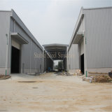 Edificio de acero prefabricado para la aplicación industrial y comercial