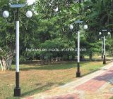 4m二重アームを搭載する太陽公園ライト