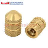 Articles chauds, Ss304 / laiton / SUS Insérer des noix pour les raccords électroniques