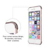 3 в 1 крышке мобильного телефона полного переноса воды крышки PC защитной в случай 360 iPhone 6 с Tempered стеклом