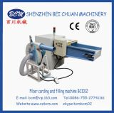 Máquina de abertura e enchimento de fibra de coushion de travesseiro
