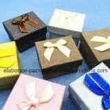 Mini conjunto hermoso colorido de la joyería del rectángulo de joyería del papel hecho a mano