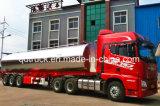 35 000L camiones de remolque del depósito de combustible de aluminio