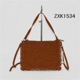 Saco tecido plutônio elegante Zxk1534 do cliente do saco de Tote do ombro das mulheres da bolsa do desenhador
