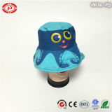 女性の青い方法平野の綿柔らかい海軍柔らかい帽子の帽子