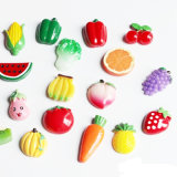 Magneti ecologici del frigorifero di figura di verdure verde (GV-716)