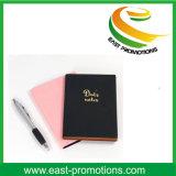 Caderno personalizado couro de gravação da impressão