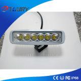 램프를 모는 크리 사람 18W LED 일 빛 6PCS*3W