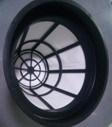 Dunkelblauer Farben-Staubsauger mit zwei Motoren für industriellen Gebrauch