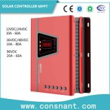 MPPT контроллера заряда солнечной энергии, 10-80A зарядное устройство 12V/24V/48V/96V авто