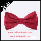 Legami di arco su ordinazione all'ingrosso tessuti seta solidi per gli uomini