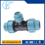 Montaje de compresión de PP de tubería de bajo coste con estándar Gbm